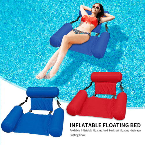 Inflatable Floating Water Hammock Float Pool Lounge Bed Sea Beach Swimming Chair LY-27194