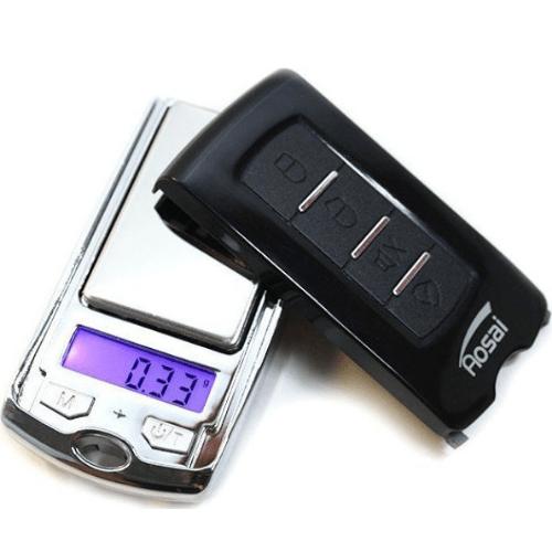 Mini Precision Scale (0.01g-100g) in Car Key Shape - OEM ATP136