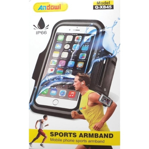 Mobile phone case for arm 5.5 sports armband Andowl Q-XB45