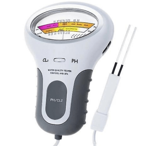 PH Chlorine Meter Tester PC-102 PH Tester Chlorine Water Quality Testing Device CL2 Measuring For Pool Aquarium And Spa