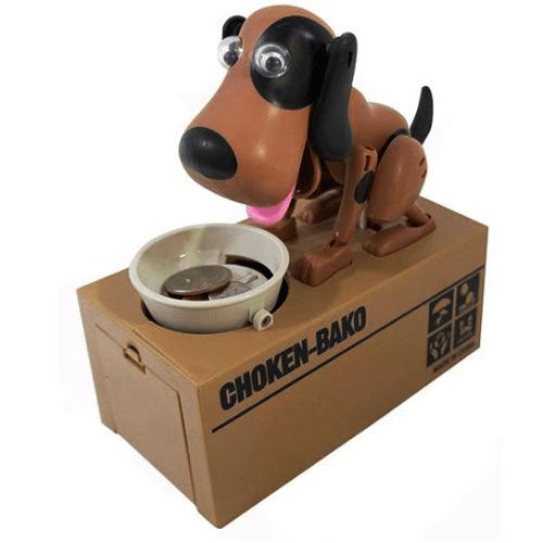 Piggy bank - hungry dog toy - My dog piggy bank MDPB-22