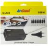 Universal Laptop Charger 100W Andowl Q-A24 - Black