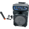 Feiyipu 5000W Professional Audio Portable 12'' Speaker with Led Display, FM Radio, Rechargeable 2200mAh Battery for Extreme Outdoor Experience and Loud Performances Es-05-12