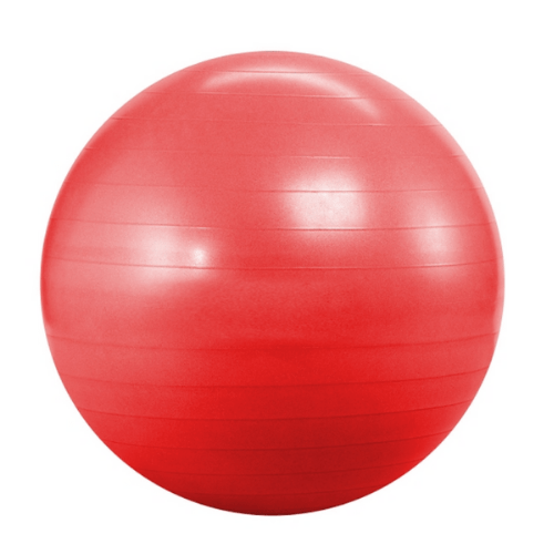 Pink Yoga Ball For Yoga, Fitness, Sports, Pilates, Birthing, Fitball, Exercise, Workout, Massage, With Pump, 65cm, YGB-356K