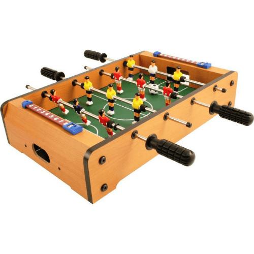 Mini Wooden Table Football 34x22x6.8 cm 03007FTB00WD