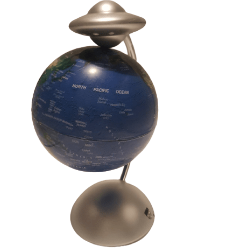 8 INCHES MAGNETIC LEVITATION FLOATING GLOBE CONSTELLATION LIGHT DESK LAMP DECOR TOY MLG-22