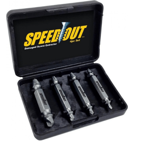 Damaged Screw Extractor Set - The Solution for Every Damaged Screw - Speed Out GL-21626