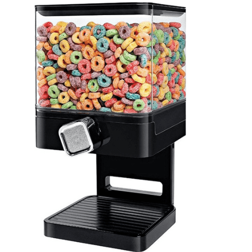 Distributor Of Cereals And Nuts Capacity 3.7L In Black Color PT93729
