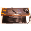 FOYU Rainbow Backlit Gaming Keyboard and Mouse Set FO-D336 RGB