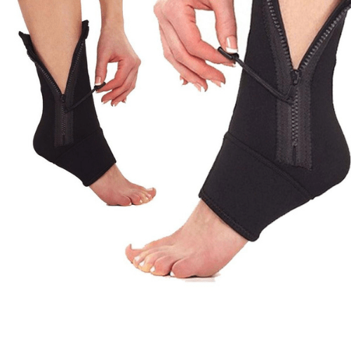 Fashion Professional Ankle Zip UP Compression Support Sport Protective Socks Ankle Brace Foot Wrist AS-22