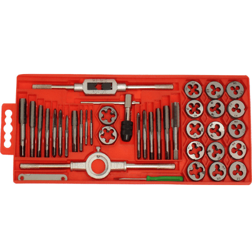 Jin Feng Professional Tools Tap And Die Set Of 40 Pieces JF-9040