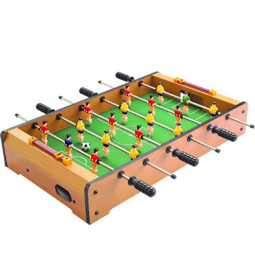 Large Wooden Table Soccer XL 48.5 × 28.5 × 8.4cm with 18 players 05012FTB00WD-0309