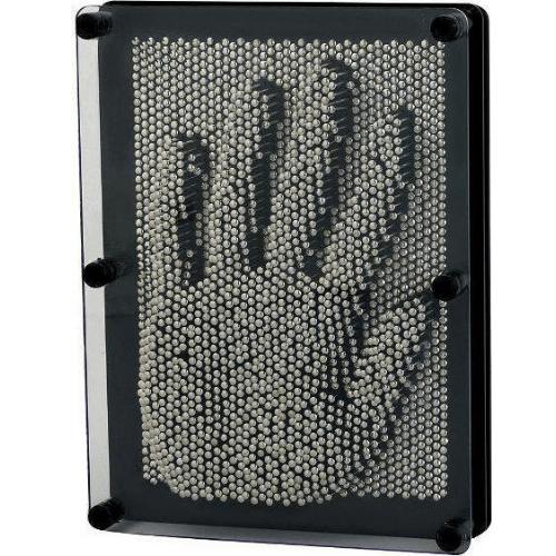 Table Metal Decorative 3D Metal Pin Art Gray Color 03005PNR00SL