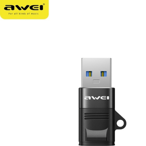 AWEI USB 3.0 Adapter To USB Type-C CL-13 Black CL-13