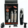 Gemei Rechargeable Shaver Black GM-3110