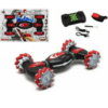 Stunt Car Remote Control Gesture Induction Twist Off-Road Vehicle Light Music Drift Dance Side Driving Remote Control Car Red RQ2087
