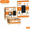 FOYU Solar LED Projector 60w With Display & Remote Control Waterproof IP67 FO-T860