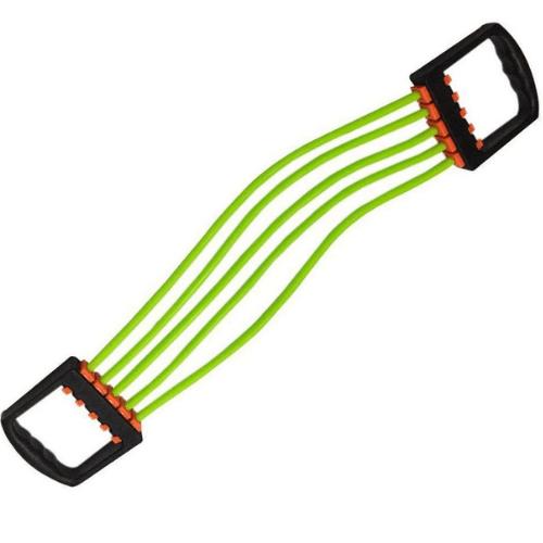 Extensor Pectoral Multifuncional 5 Rubber Chest Pull Level Green EPM-22