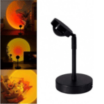 Sunset Lamp Sunlight Table Projector Sunset Black YD-009