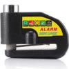 100DB Motorcycle Alarm Lock Motorcycle Anti-Theft Alarm Wheel Disc Brake Security Security Siren Lock Motorcycle Disk Brake Lock LK603