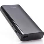 Awei High Capacity portable charger 12000mAh Power Bank Black P77K