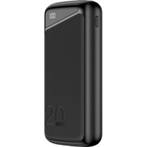 Awei Power Bank 20000mAh 22.5W With Quick Charge And USB-C Black P104K