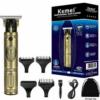 Kemei Rechargeable Hair Clipper Gold KM-700B
