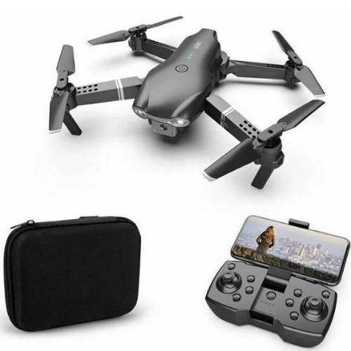 SLSRC Mini DRONE Foldable In Black 4K Camera Fixed Swing Three Speed Options And Carrying Bag APP WIFI_CAM S602
