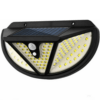 Three-Sided Solar LED With Solar Panel And Motion Sensor IP65 Solar Waterproof Outdoor Light 118 LED With Motion Sensor NF-118