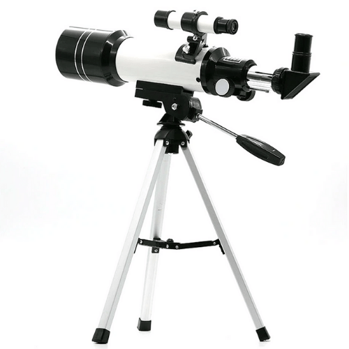 Astronomical Telescope High Times Of Large Diameter Deep Space Exploration Aluminium Black/White AZM70300