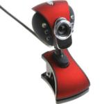 Fashion WebCam USB 2.0 50M 6LED PC HD Webcam Camera Web Cam Mic DW-PC02