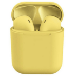 Earphone Bluetooth inPods 12 Yellow