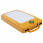 Solar Power Bank Solar Charger 10000mAh With Compass Beige Color HY-708B